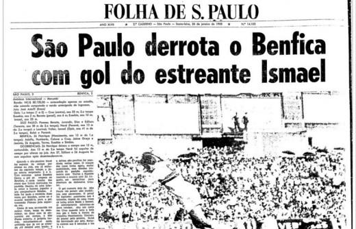 São Paulo 1x0 Benfica