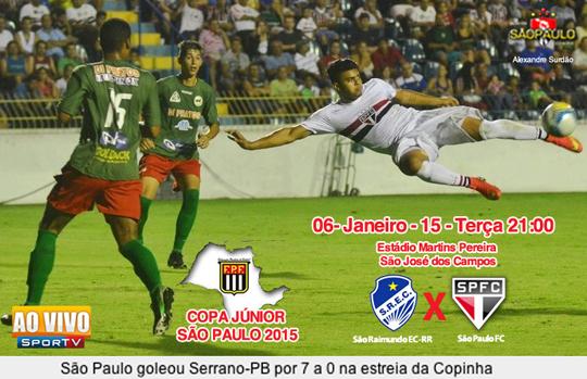 São Paulo x São Raimundo