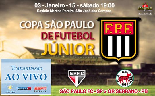 São Paulo x Serrano
