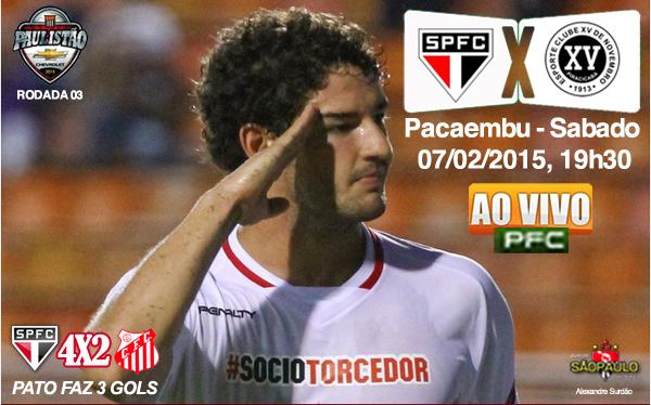 São Paulo x XV Piracicaba