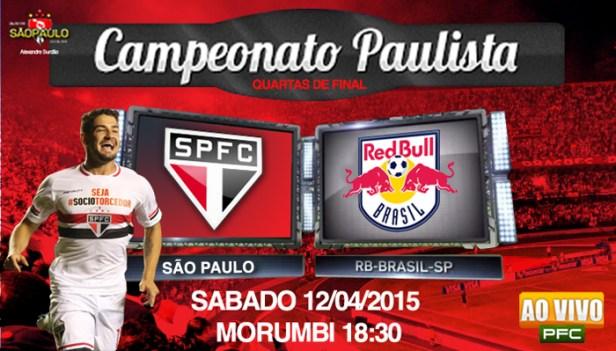 São Paulo x Red Bull Brasil