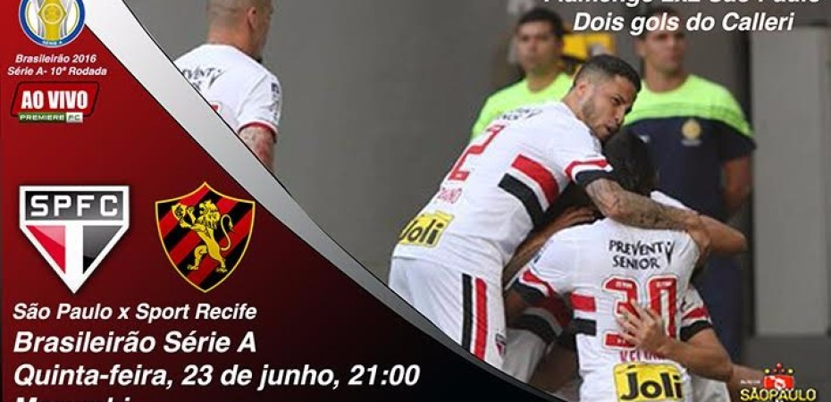 48855e6175 São Paulo pega Sport para entrar no G4 em dia de notícias ruins do ...