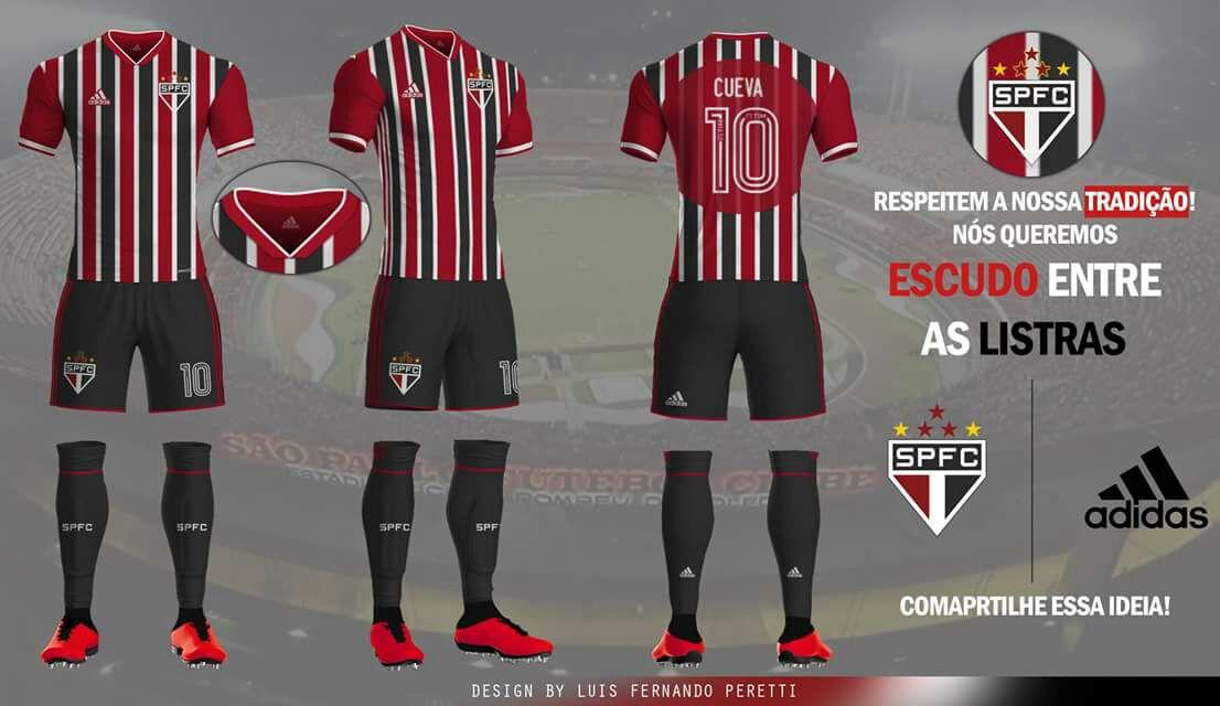 5c0bd70ae8 Eu até hoje não entendo porque é que ela não foi lançada para um terceiro  uniforme. É a camisa mais bonita que o São Paulo ...