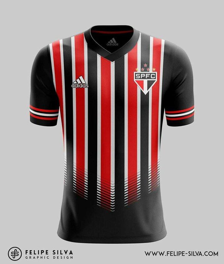 3e1dc5096ff1e Novos Designs de Uniforme: Adidas x São Paulo, por Felipe Silva ...