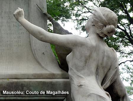 Mausoléu de Couto de Magalhães - Cemitério da Consolação