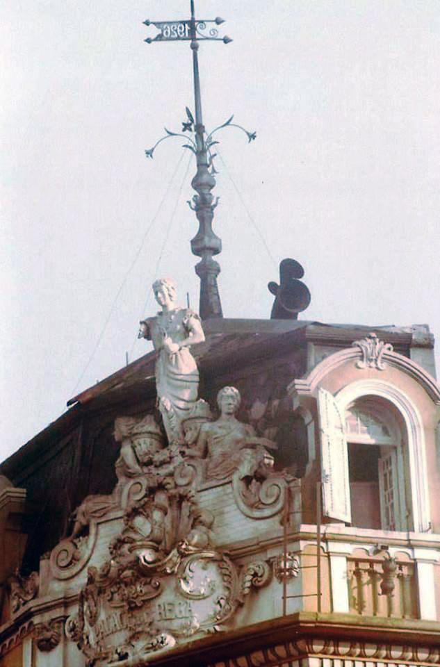Nesta foto é possível observar o ano da construção / Crédito: Elio Lammardo