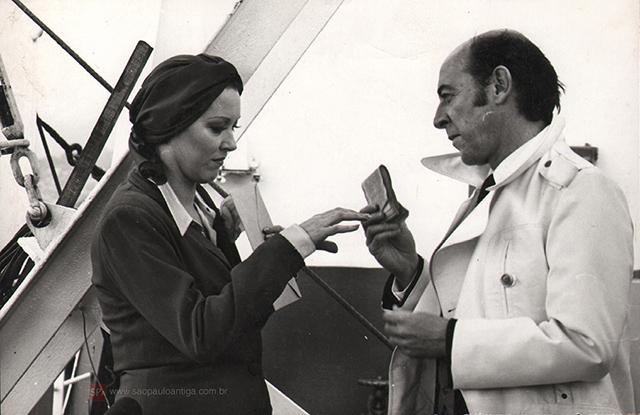 Lilian Lemmertz e Raul Cortez (clique para ampliar).