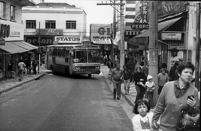 Rua Padre Antônio Benedito, na Penha, em 1979