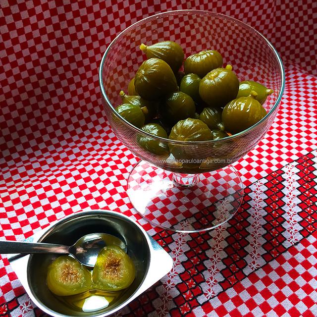 O doce de figo já pronto para servir (clique na foto para ampliar)