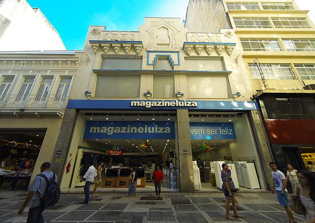 O prédio do Cine Alhambra hoje (clique na foto para ampliar)