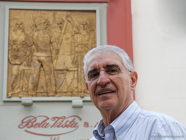 Cid Maraia de Almeida, presidente da Bela Vista (clique na foto para ampliar)