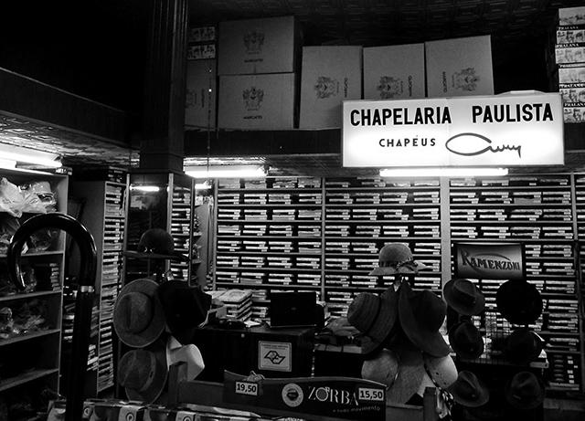 Por dentro da Chapelaria Paulista
