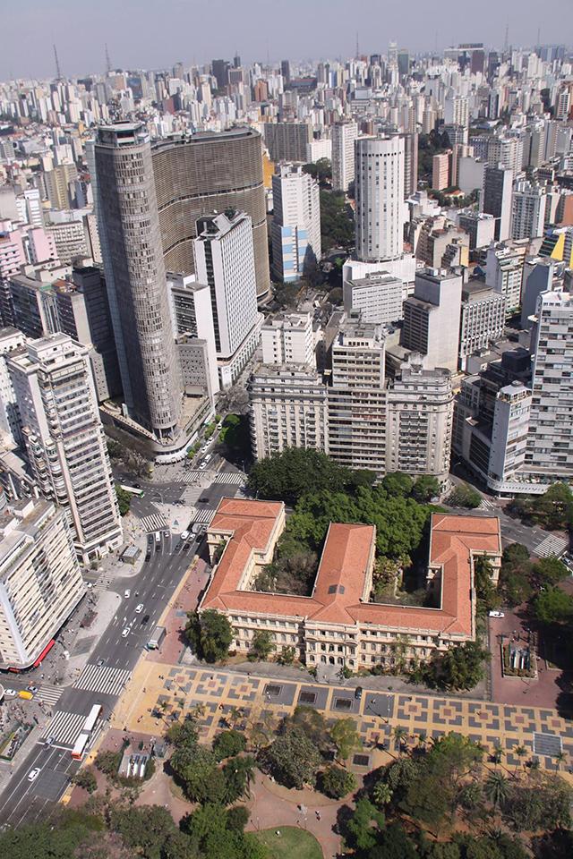 Praça da República e arredores