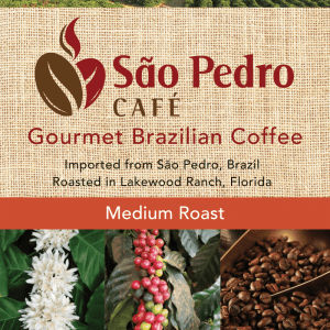 Sao Pedro Medium Roast Whole Bean
