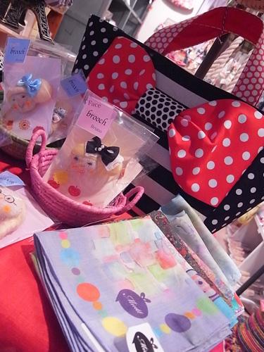 水玉とボーダー&ストライプのバッグブランド Saori Mochizuki サオリモチヅキ 望月沙織