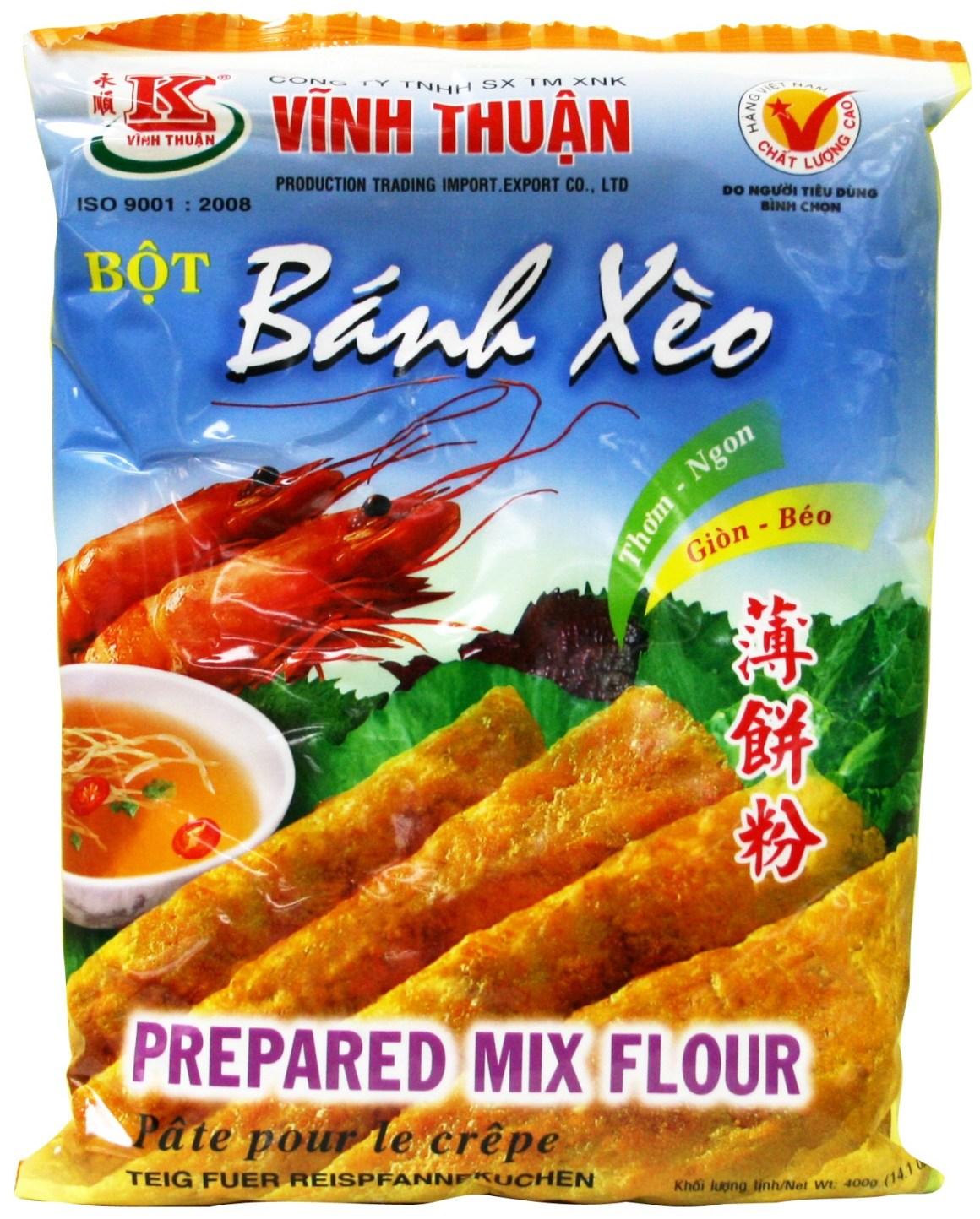 Vietnamese pannenkoeken meel
