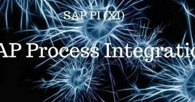 SAP PI Tcodes, SAP PI Tables