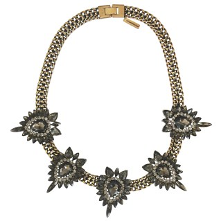 Cosmopolitan - colar 5 peças shourouk diamond curto ouro vin