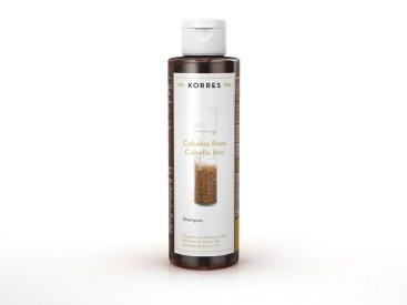 Korres -Shampoo -Proteinas do Arroz e Tilia -R$26,00