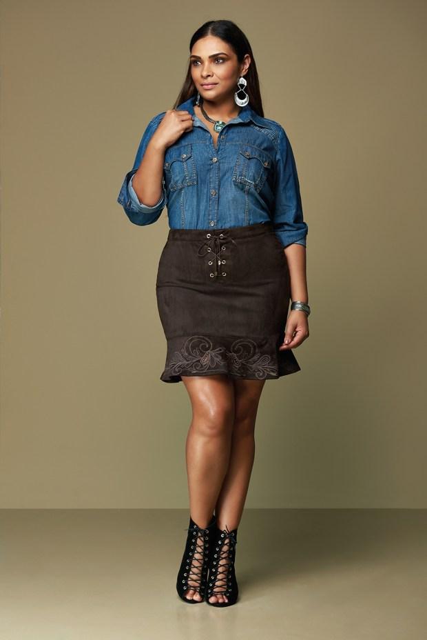Elegance Plus Size_camisa ref 06450