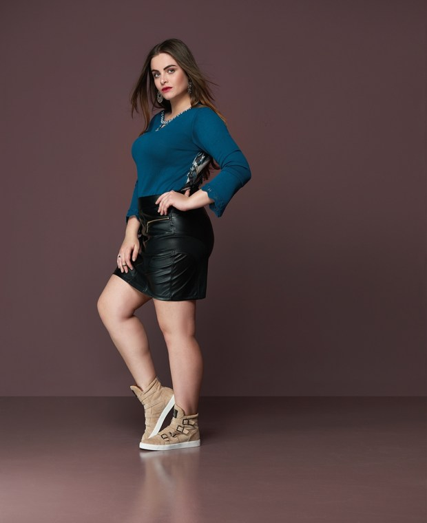 Elegance Plus Size_casual chique_modelo Muriel Segovia