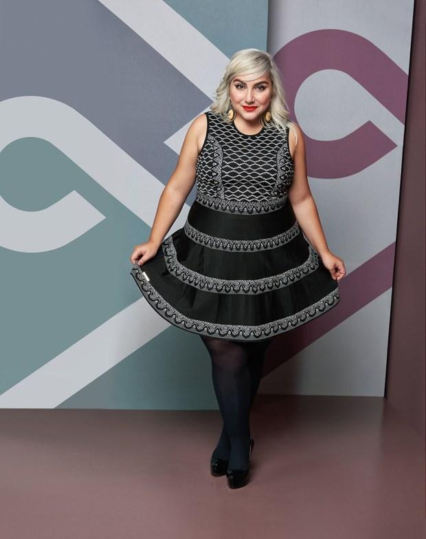 Elegance Plus Size_lady like_modelo Ju Romano