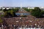 (1995 Million Man March in Washington, DC   Photo Credit- MMM)