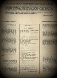 """Malcolm X by Suliaman El-Hadi"" Islamic News: Special Edition Vol. 1 No. 4 (Darul Islam Newspaper"