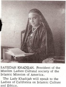 Profile: Mother Khadijah Faisal