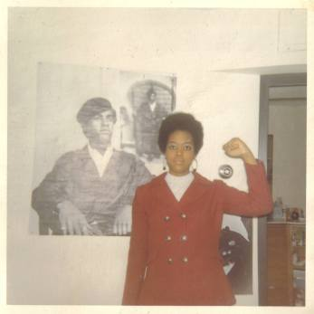 Audrey Black Power Fist
