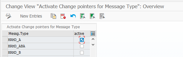 SAP Change Pointers in 4 steps