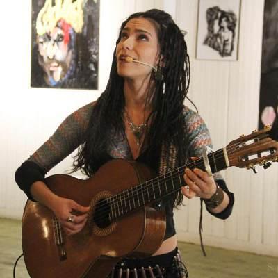 Mamselle Ruiz au Lancement du numéro 6 de Tic Art Toc