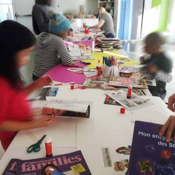 Atelier visioptimiste «C'est quoi tes rêves?» pour enfants et ados