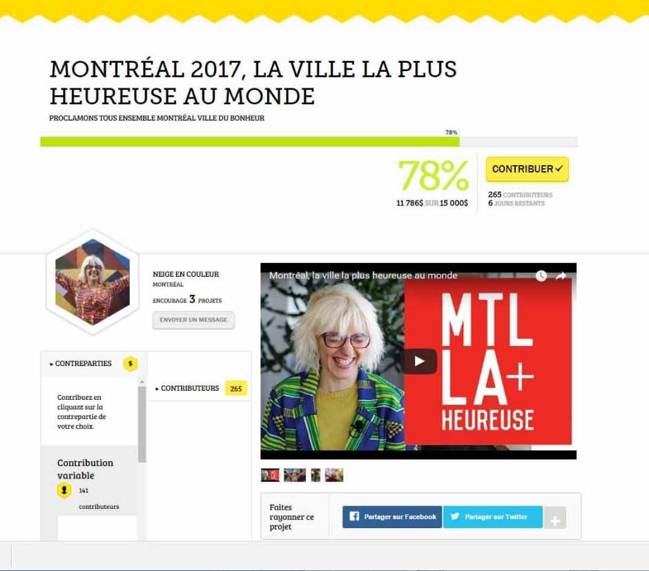 mtllaplusheureuse-saphiroptimiste-franck billaud - Montréal-rossana bruzzone -bonheur - heureux
