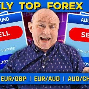 This Week's TOP 5 Forex Pairs: EUR/USD, EUR/GBP & more! (+ MARKET EVENTS)