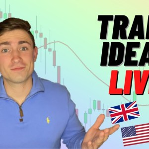 LIVE Forex Trading: Analysis & Setups   Time to Sell the GBP Pairs?