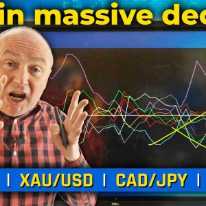 USD in MASSIVE Decline! Discussing XAU/USD, USD/CAD & More! (Forex Forecast)