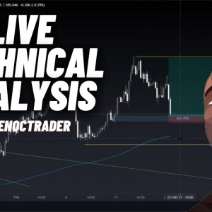 Forex Technical Analysis LIVE with The NocTrader | Forex Tips & Setups
