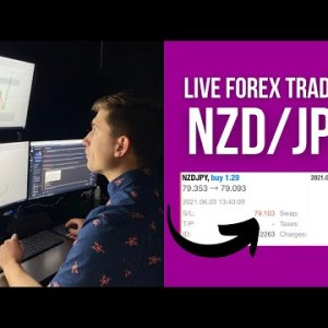 Live Forex Trading: How to LOSE -$307.16 Trading NZD/JPY
