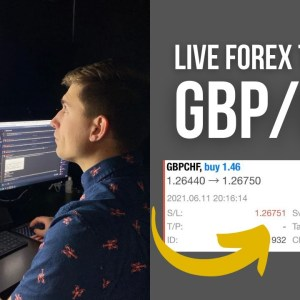 Live Trading GBP/CHF for $500.76: Building Consistency! (Trade Explained)