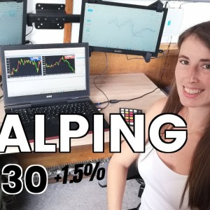 Scalping US30 Trading Recap - Step by Step