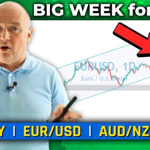BIG WEEK for USD! Discussing EUR/USD, XAU & More! (Forex Forecast)