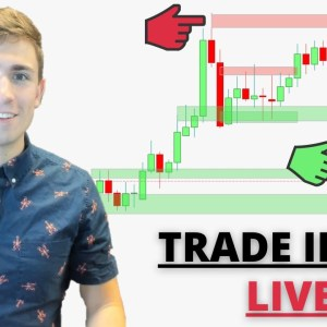 Live Forex Trading: New York Session   Is GBP Going to Breakout? Trade Setups..