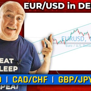 EUR/USD in DECLINE?! Discussing GBP/JPY, US30 & More! (Forex Forecast)