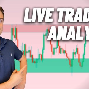 Live Forex Trading: New York Session   Gold Pulls Back... Time to Buy?