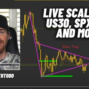 Live Forex Scalping with EarnWithTodd! Scalping US30, NAS100, and More!