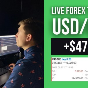 Live Forex Trade: Up +$47.38 in Two CRAZY Trades! (Trading the Fed News...)