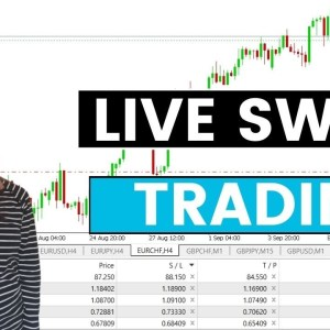 Live Swing Trading Forex Price Action Analysis & 5ers Account Update