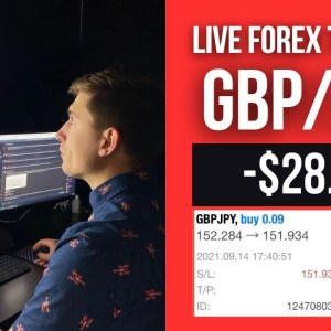 Real Forex Trading: -$28.87 on GBP/JPY | Sometimes THIS Happens!