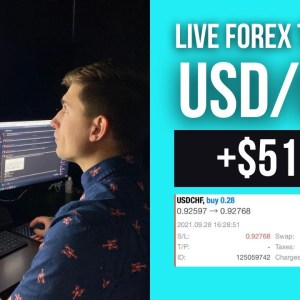 Real Forex Trade: Going Long USD/CHF for +$51.35 | (I May Have Messed Up...)